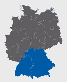 Leistungsgebiet Bayern-Baden-Württemberg
