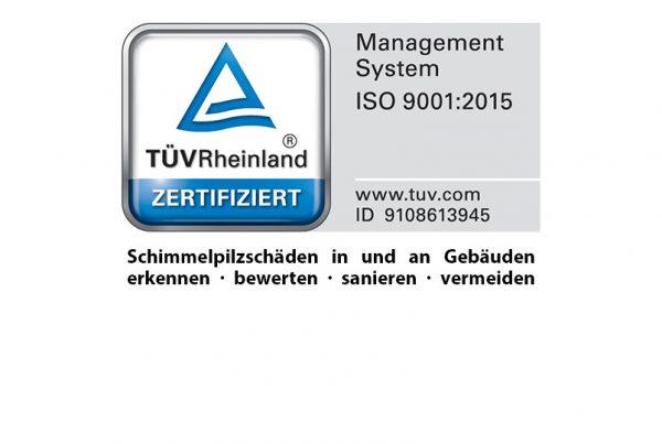 TÜV Zertifikat ISO 9001:2015 Tronex GmbH x2