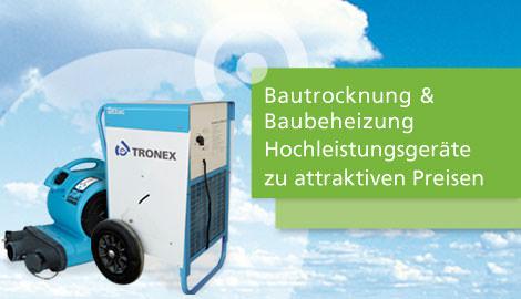 Bautrocknung Stuttgart von der TRONEX GmbH