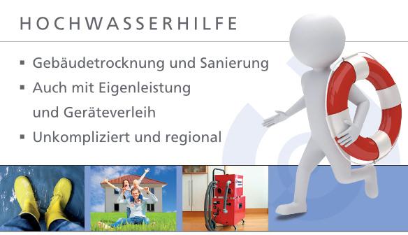 Hochwasserhilfe - Tronex GmbH