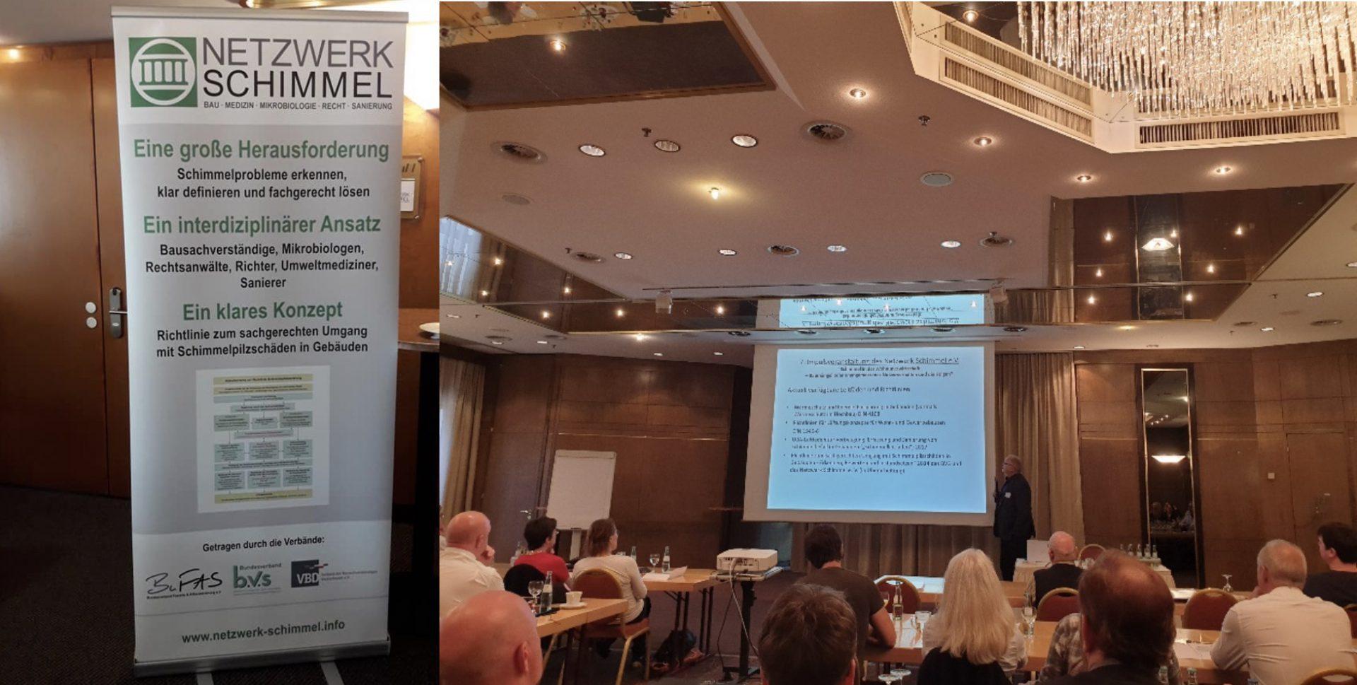 Rückblick auf die 7. Impulsveranstaltung des Netzwerk Schimmel e.V. vom 27. September 2019 in Kassel