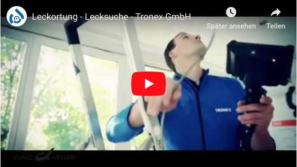 Memmingen Leckortung Tronex GmbH Video Thumbnail